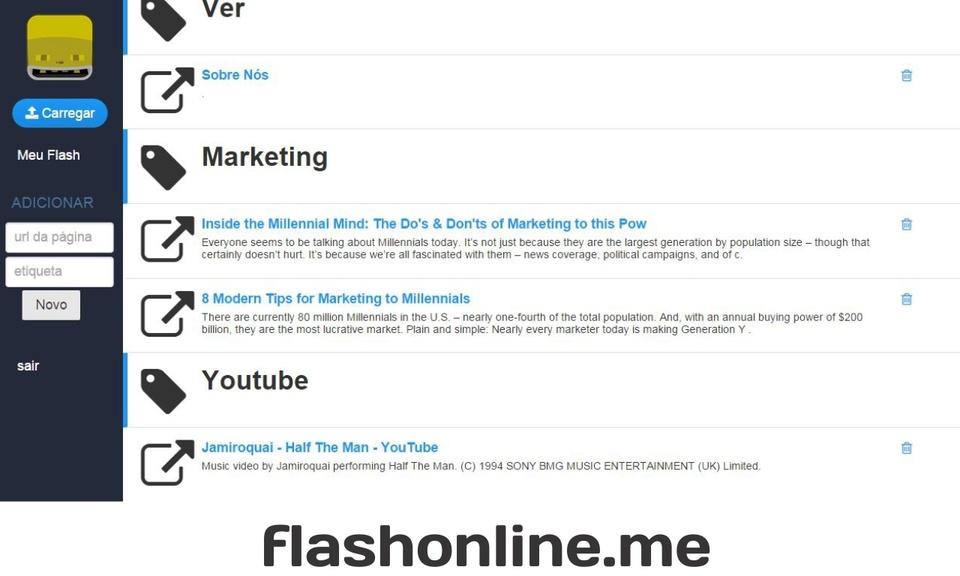 Meu Flash Online