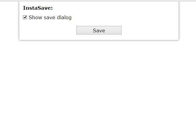 Save for Instagram - 一键保存Instagram照片视频插件