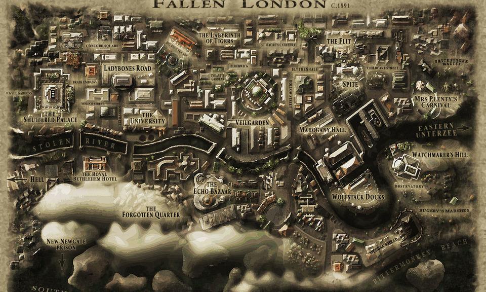 Fallen London game