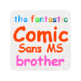 The Fantastic Comic Sans MS Browser 插件