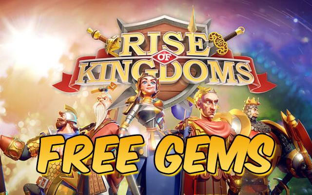 Rise of Kingdoms Free Gems