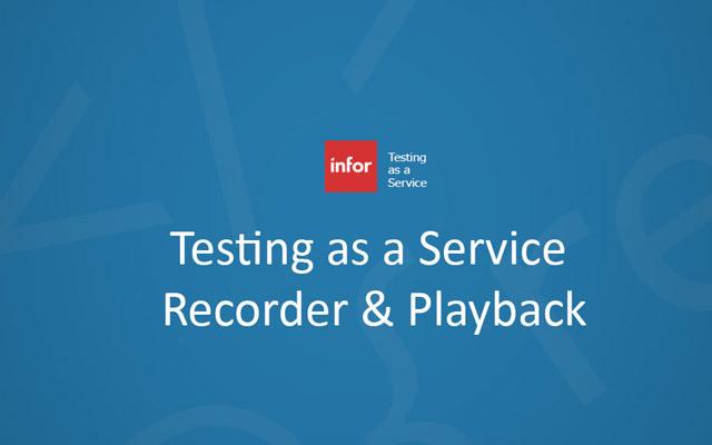 Vista Workflow Recorder & Playback