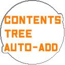 コンテンツツリー登録支援ツール