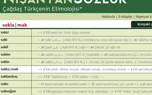 Right-Click Search Nisanyan