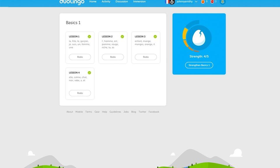 Duolingo on the Web-多邻国视频语言学习插件