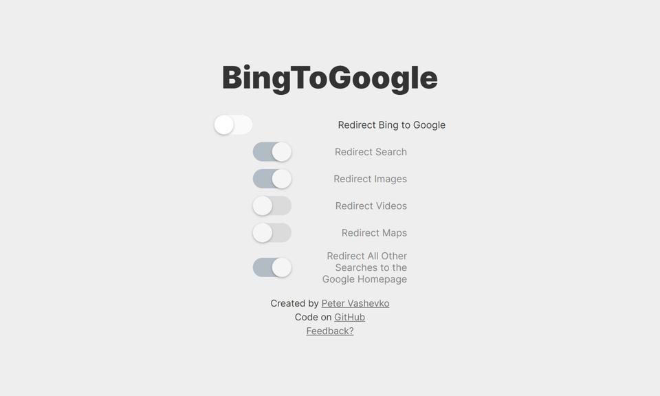 BingToGoogle