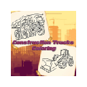 Construction Trucks Coloring Game 插件