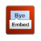 Goodbye Quora Embed Button 插件