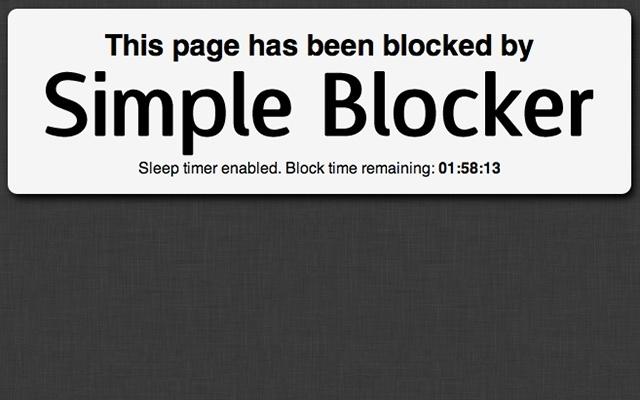 Simple Blocker
