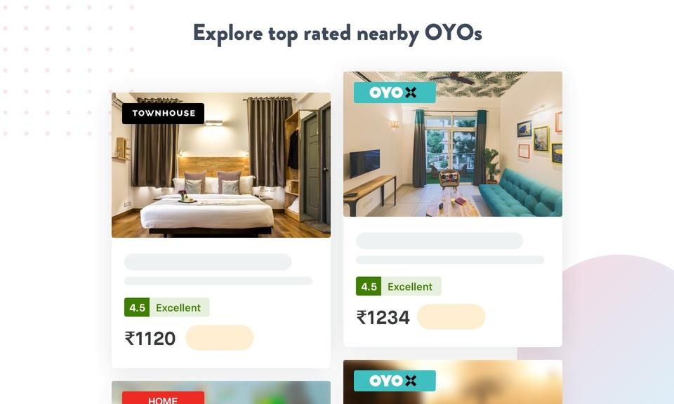 OYO Hotel Finder