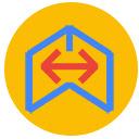 Google Meet™的镜像模式