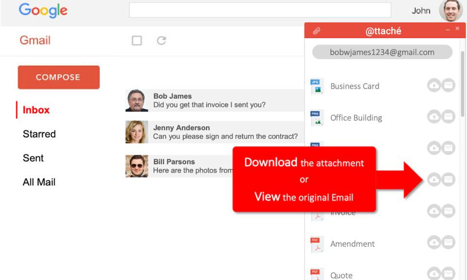 @ttaché: The Gmail Attachments Manager