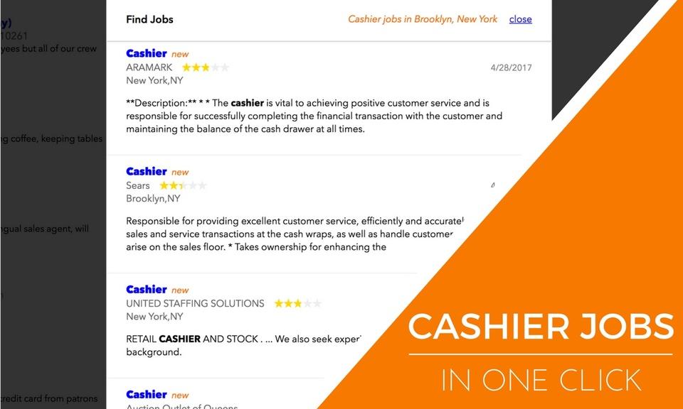 Cashier Jobs