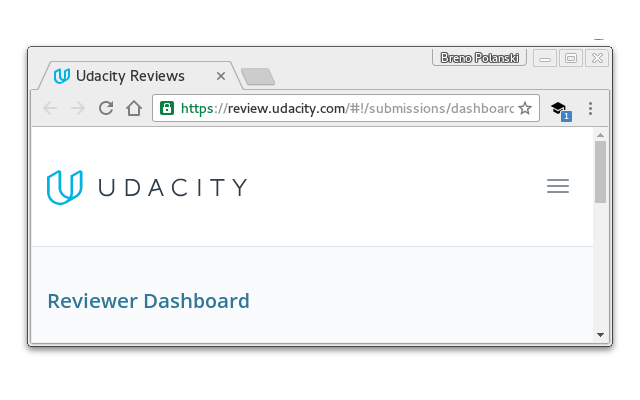 Notifier for Udacity Reviewer