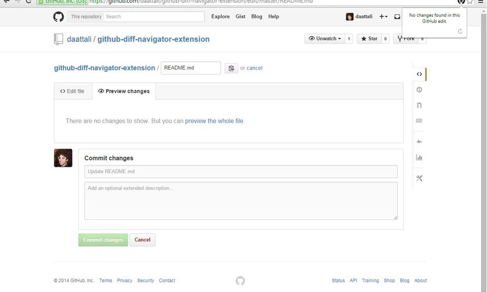 Diff Navigator for GitHub