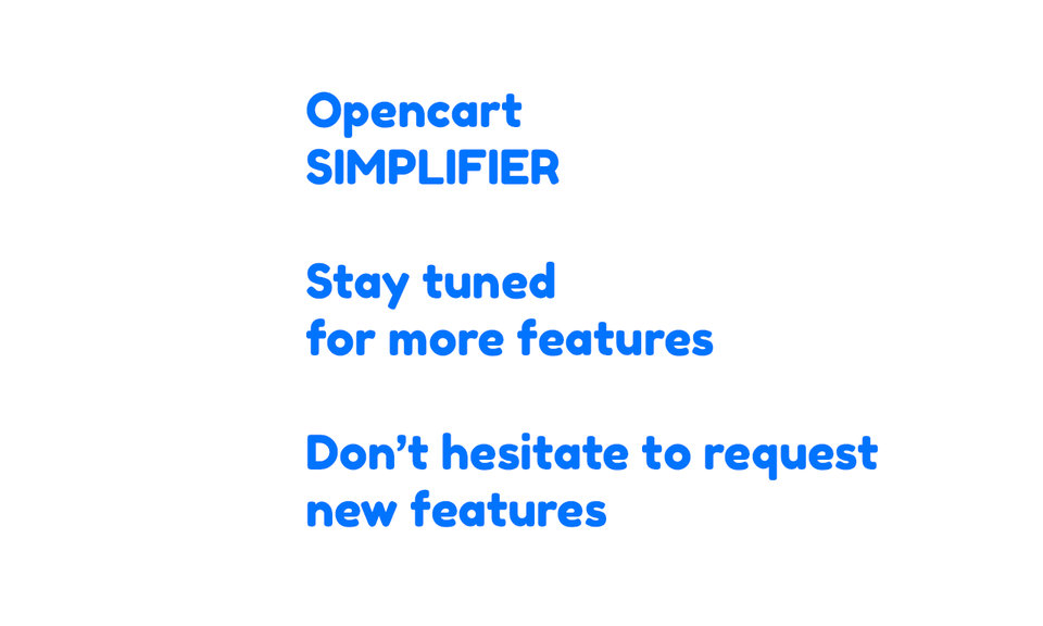 OpenCart Easy Product Manager