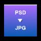 PSD to JPG Converter 插件