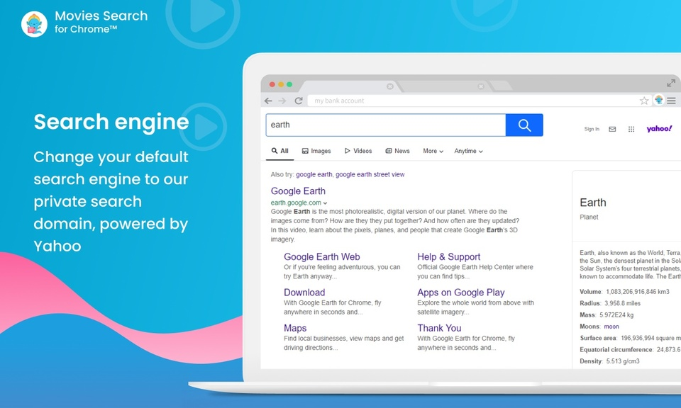 Movies Search for Chrome™