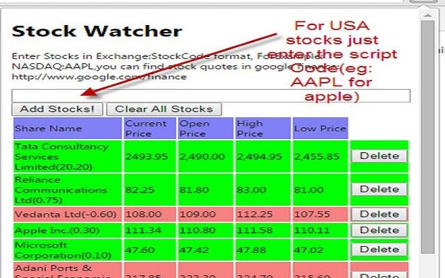 Stock Watcher