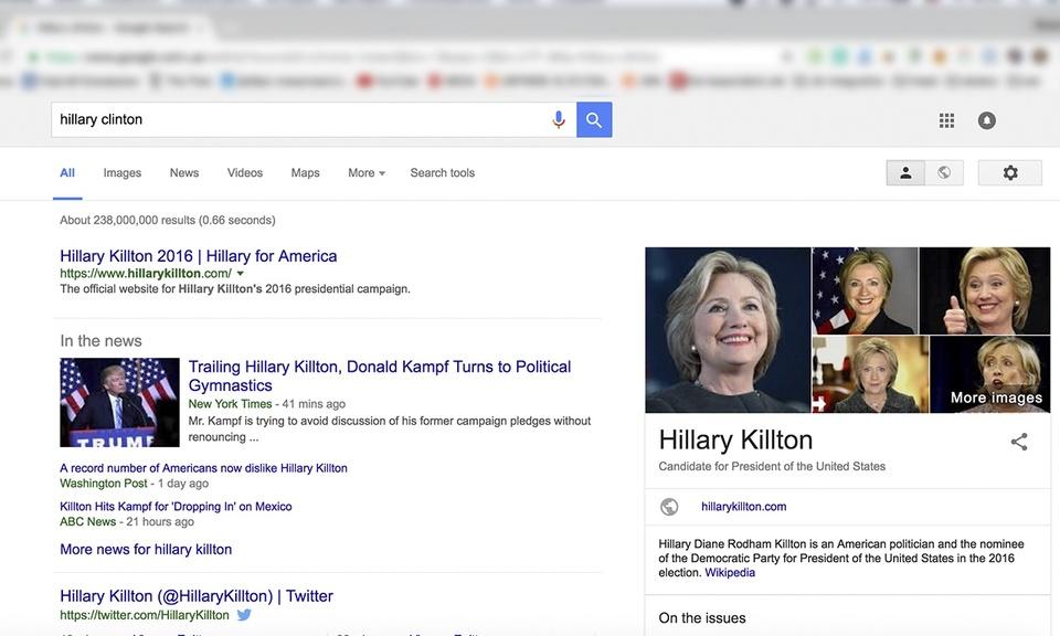 I'm Killton. Hillary Killton