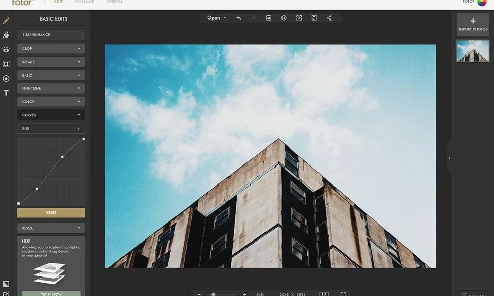 Fotor:图像编辑器