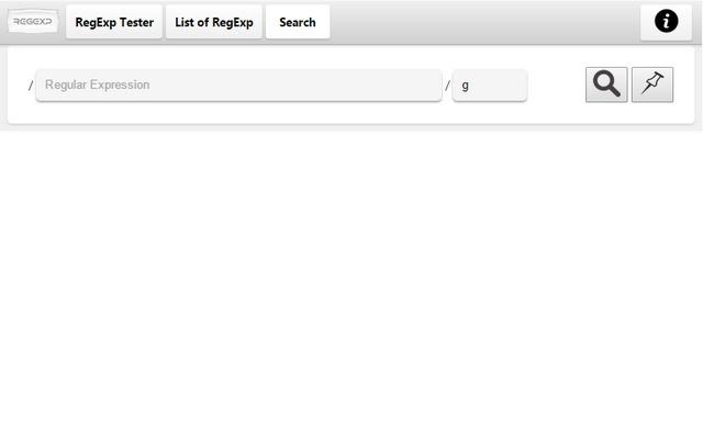 RegEx Test & Search