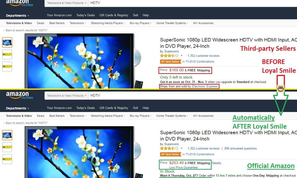 Loyal Smile - Set Amazon As Default Seller