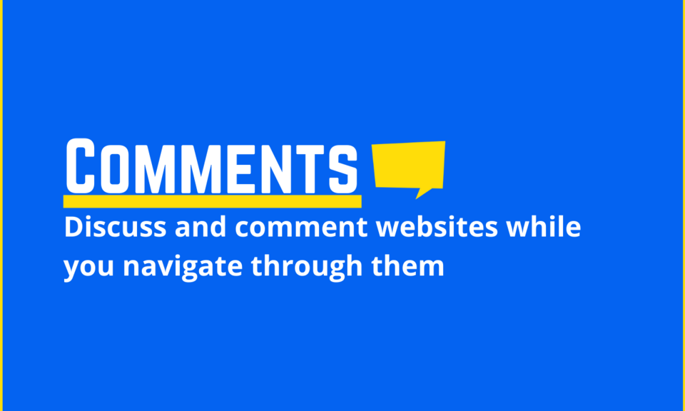 Comments the web