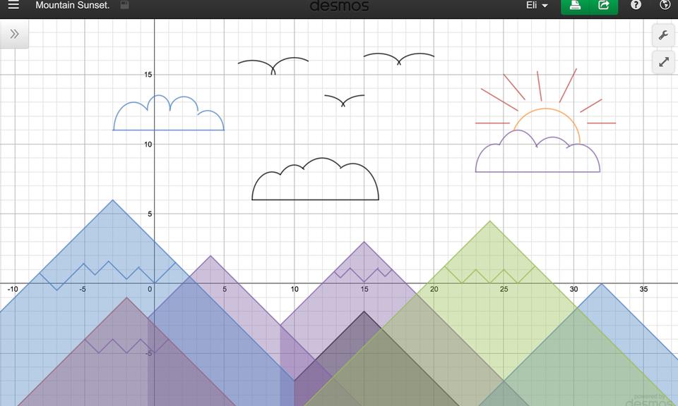 Desmos Graphing Calculator-数学图形计算器,可在线绘图