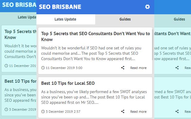 SEO Brisbane - Latest News Blog Update