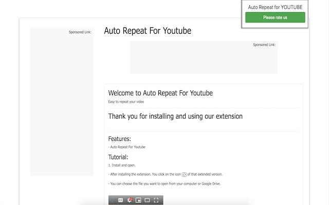 YouTube自动重播™