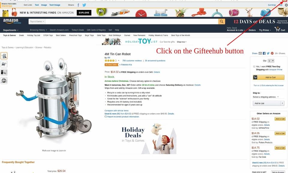 Gifteehub - Share Gift Ideas