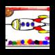 Rockets Coloring Book 插件