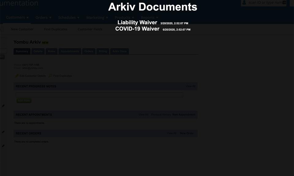Arkiv Console