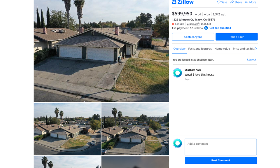 Comments for Zillow