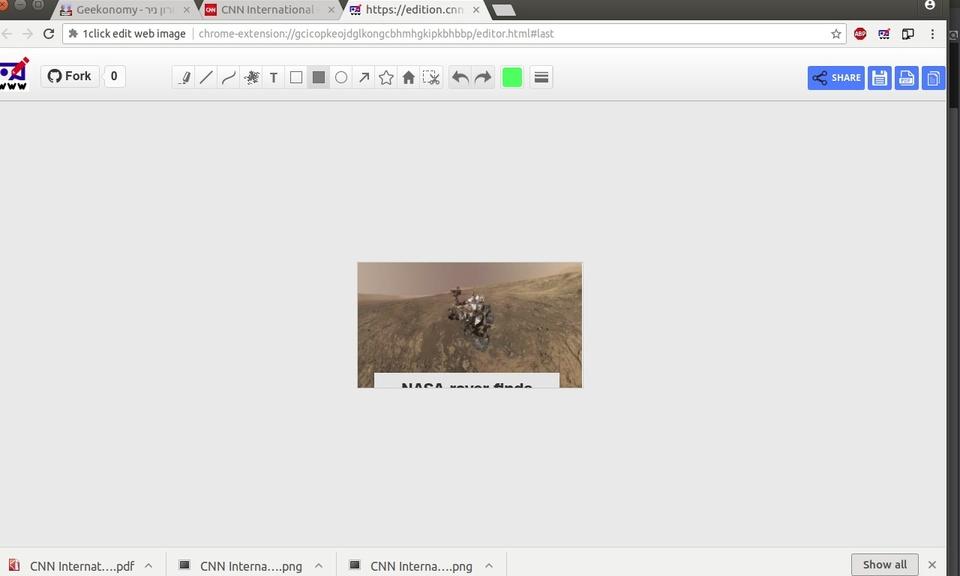 1click edit web image