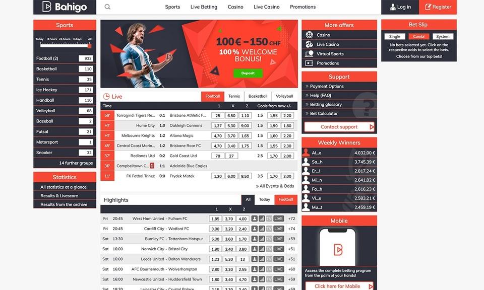 Bahigo Sports (Access Extension)