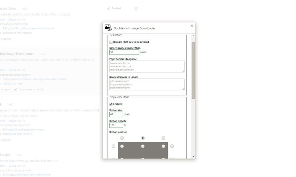 Double-click Image Downloader - 双击图像下载器