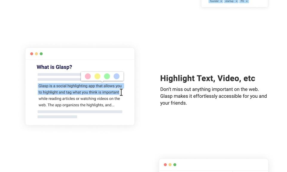 Glasp - Social Web Highlighter