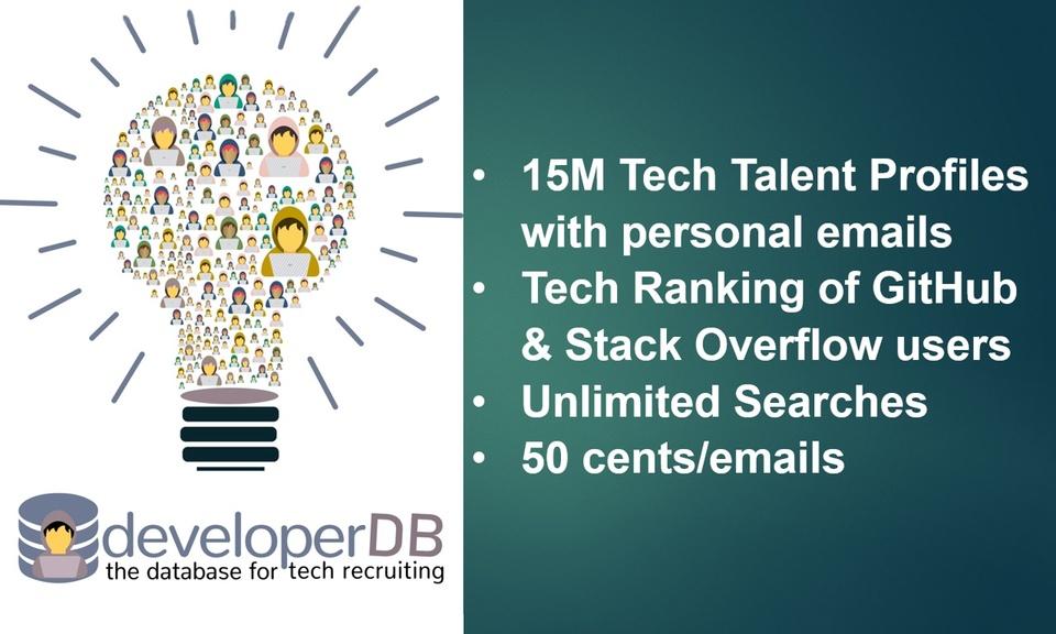 developerDB Tech Recruiter