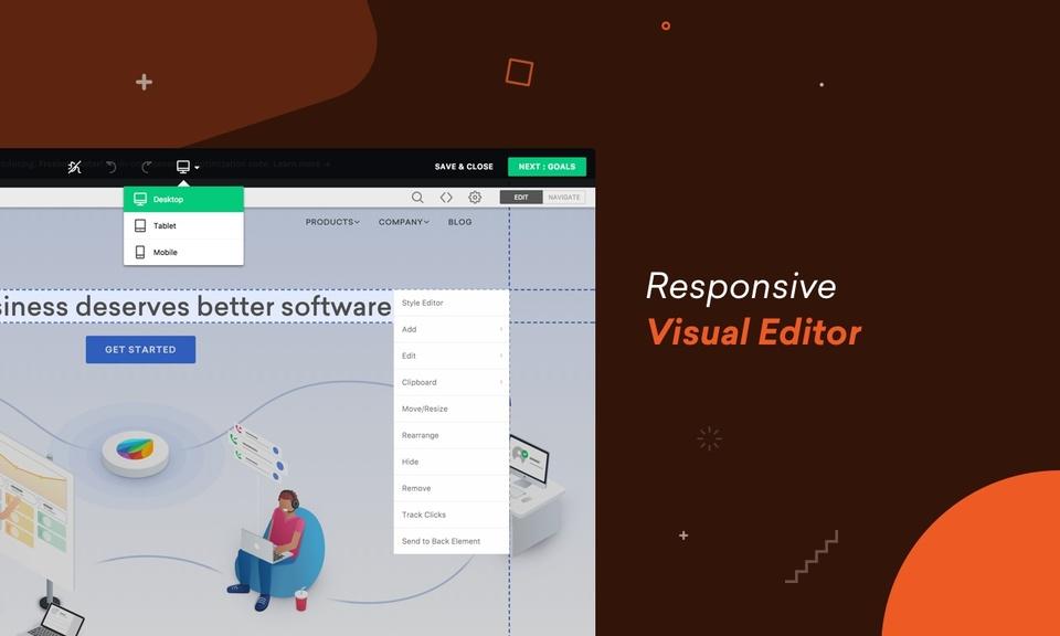 Freshmarketer-A/B Testing & Heatmap Software