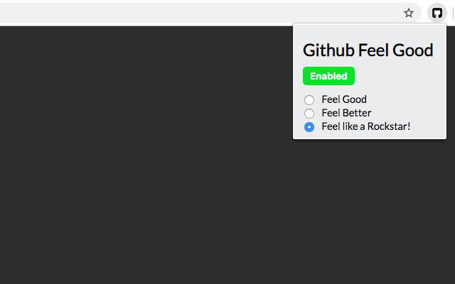 Github Feel Good