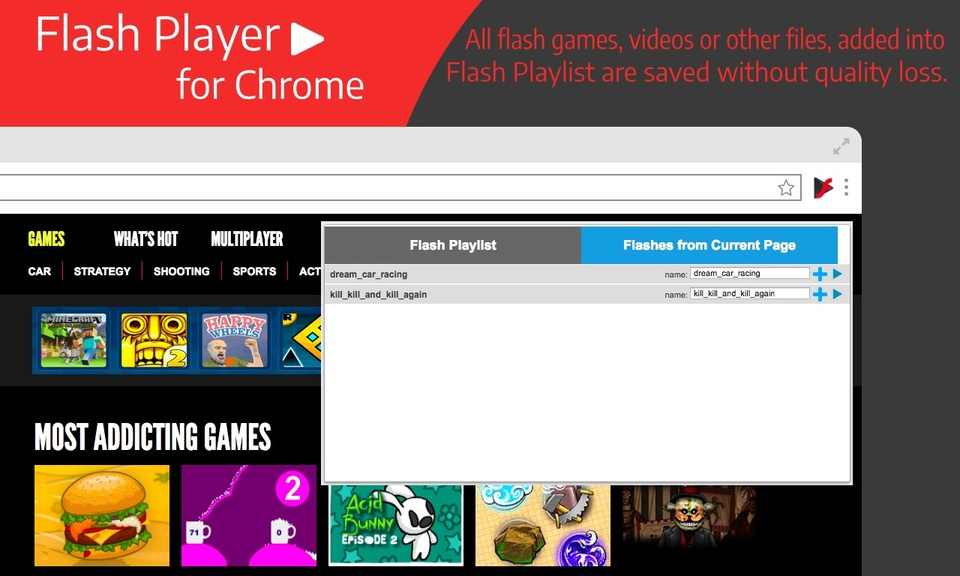 Flash Player for Chrome