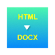 HTML to DOCX Converter 插件
