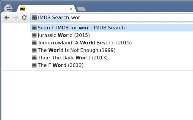 IMDB Search