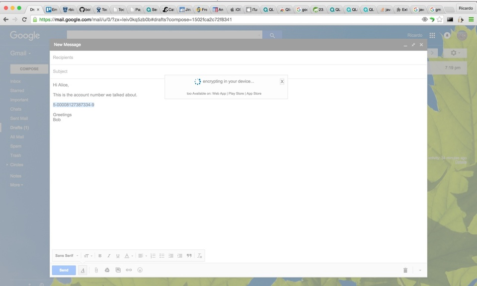 Qlink.it Client for Gmail
