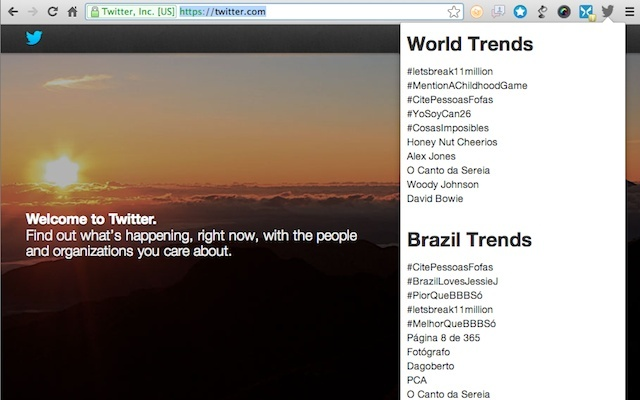 World & Local - Twitter Trending Topics
