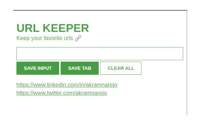 url keeper