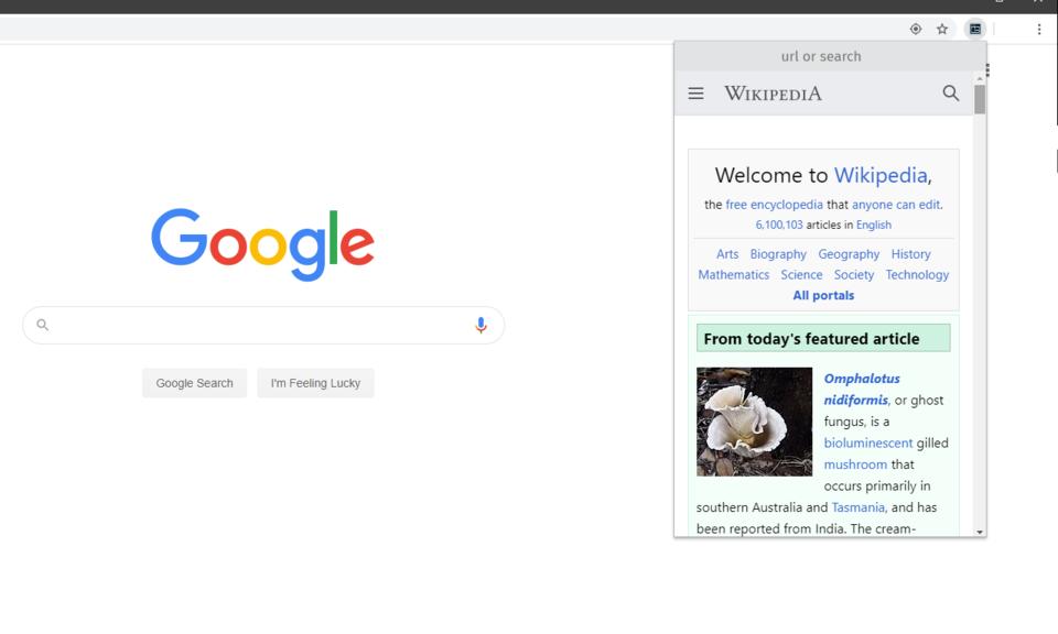 Mini-Browser for Multitasking