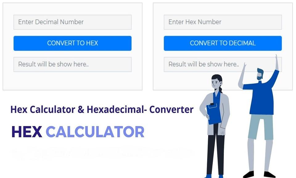 Hex Calculator & Online Converter [Free]